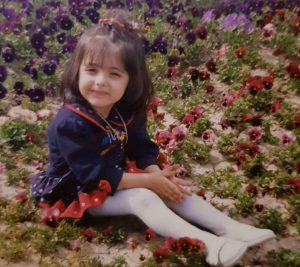 عکس دوران کودکی زیبا کرمعلی