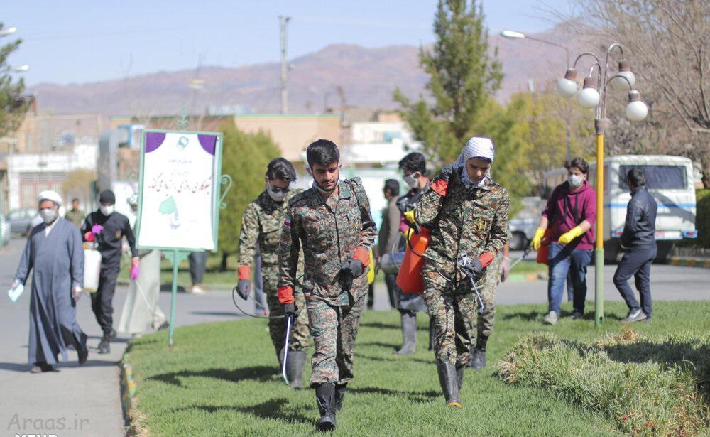 تلاش گروه جهادی در مبارزه با کرونا