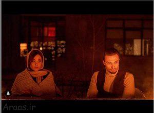 امیر جدیدی و پریناز ایزدیار در فیلم سینمای لتیان