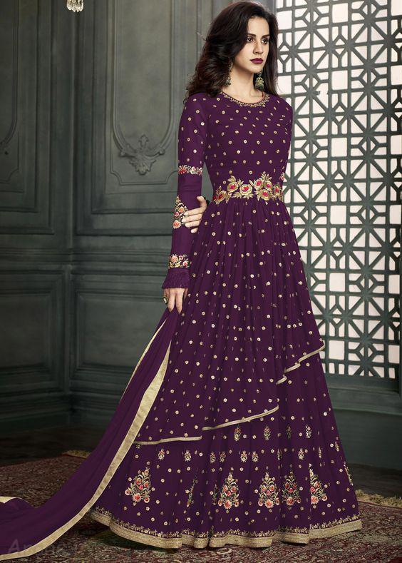 زیباترین مدل لباس هندی مجلسی