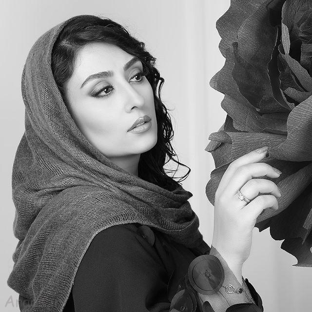 عکس الهام طهوری بازیگر سریال پرگار