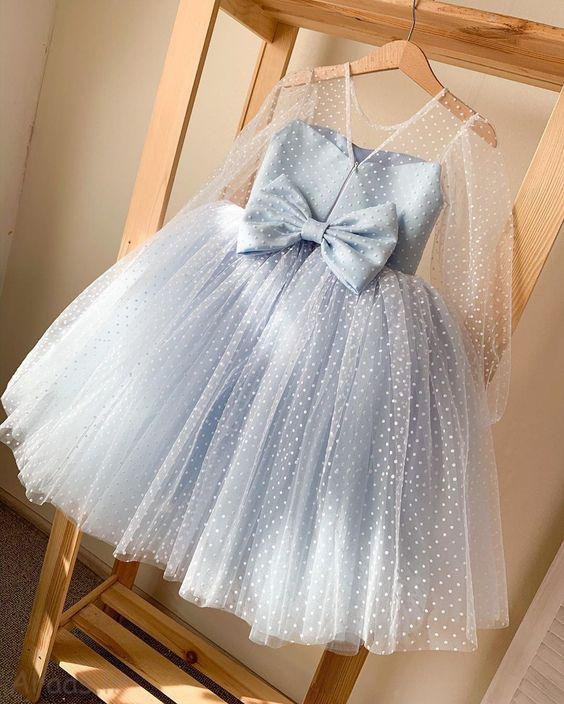 مدل لباس دخترانه بچگانه مجلسی شیک
