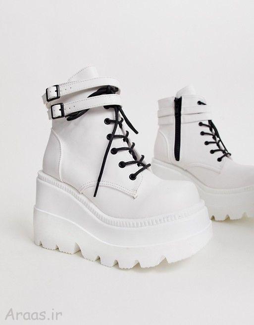 مدل کفش دخترانه زمستانی / مدل نیم بوت مجلسی