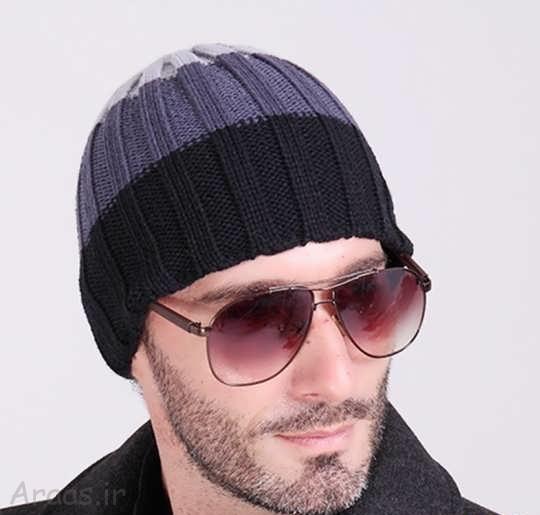 مدل شال و کلاه بافتنی مردانه و پسرانه