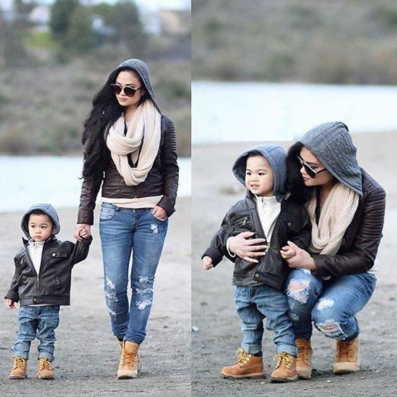 ست لباس مادر و پسر