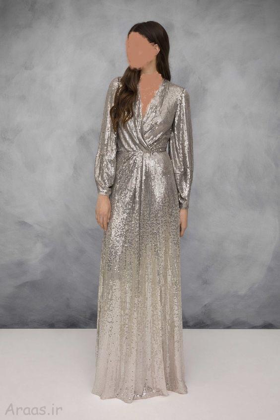 مدل لباس شب بلند
