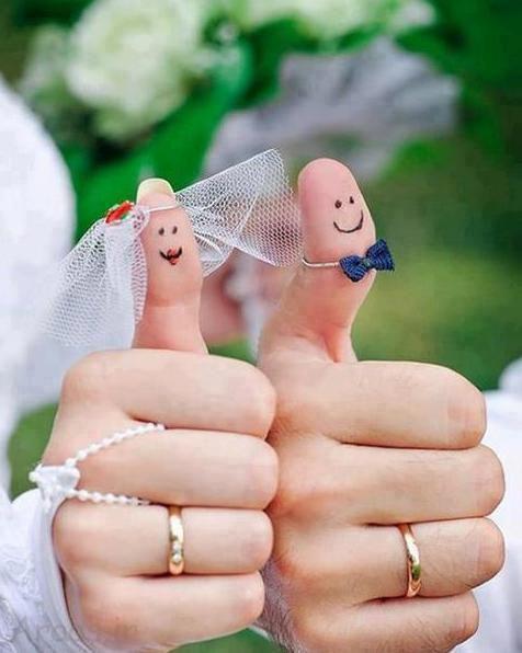 عکس پروفایل حلقه ازدواج در دست