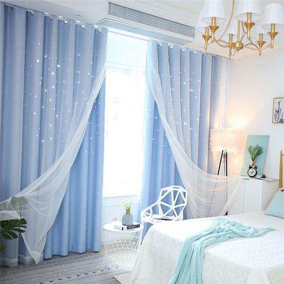 مدل پرده اتاق خواب شیک