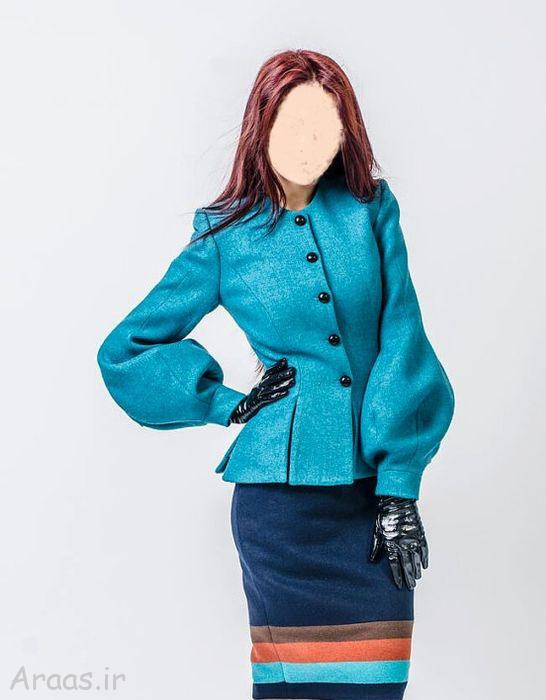 جدیدترین مدل کت و دامن ترک مجلسی