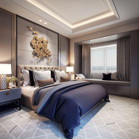 دکوراسیون اتاق خواب مدرن