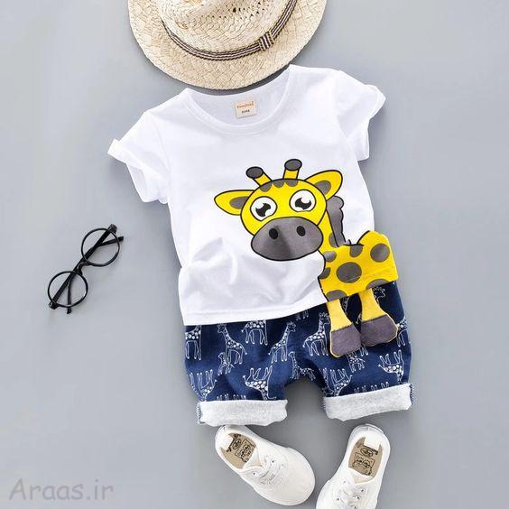 مدل لباس پسرانه تابستانی