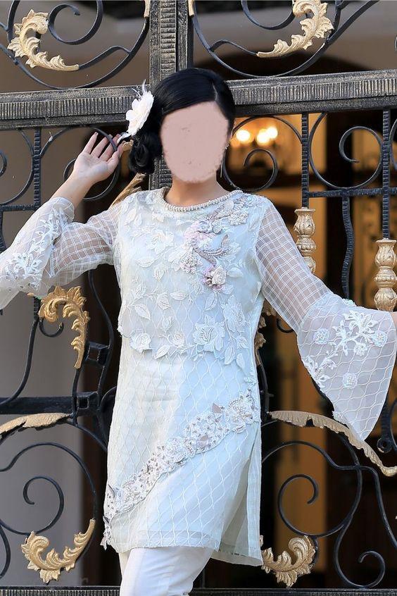 مدل لباس هندی مجلسی شیک / مدل تونیک مجلسی شیک