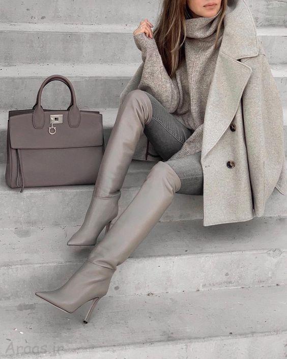 مدل های زیبای کت زمستانی دخترانه و زنانه شیک
