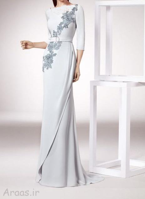 مدل لباس شب پوشیده
