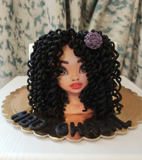 کیک روز مو فرفری ها