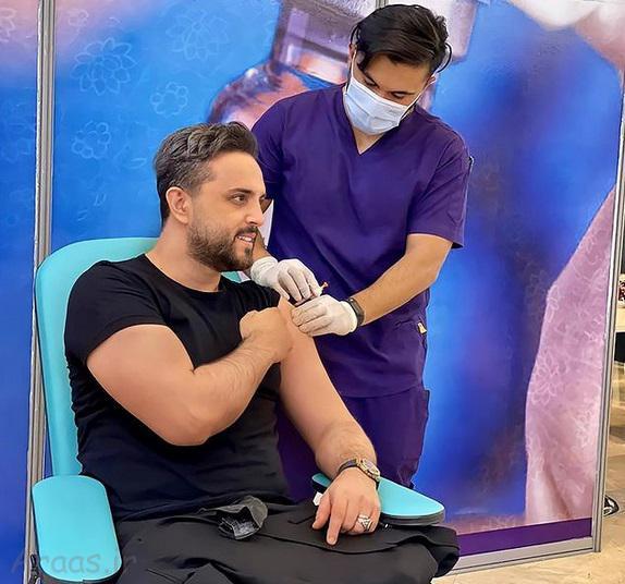 هنرمندانی که داوطلبانه واکسن ایرانی زدند