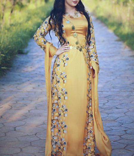 گالری عکس مدل لباس کردی زنانه شیک
