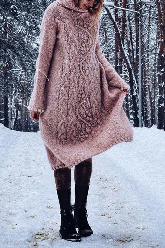 مدل بافت زمستانه